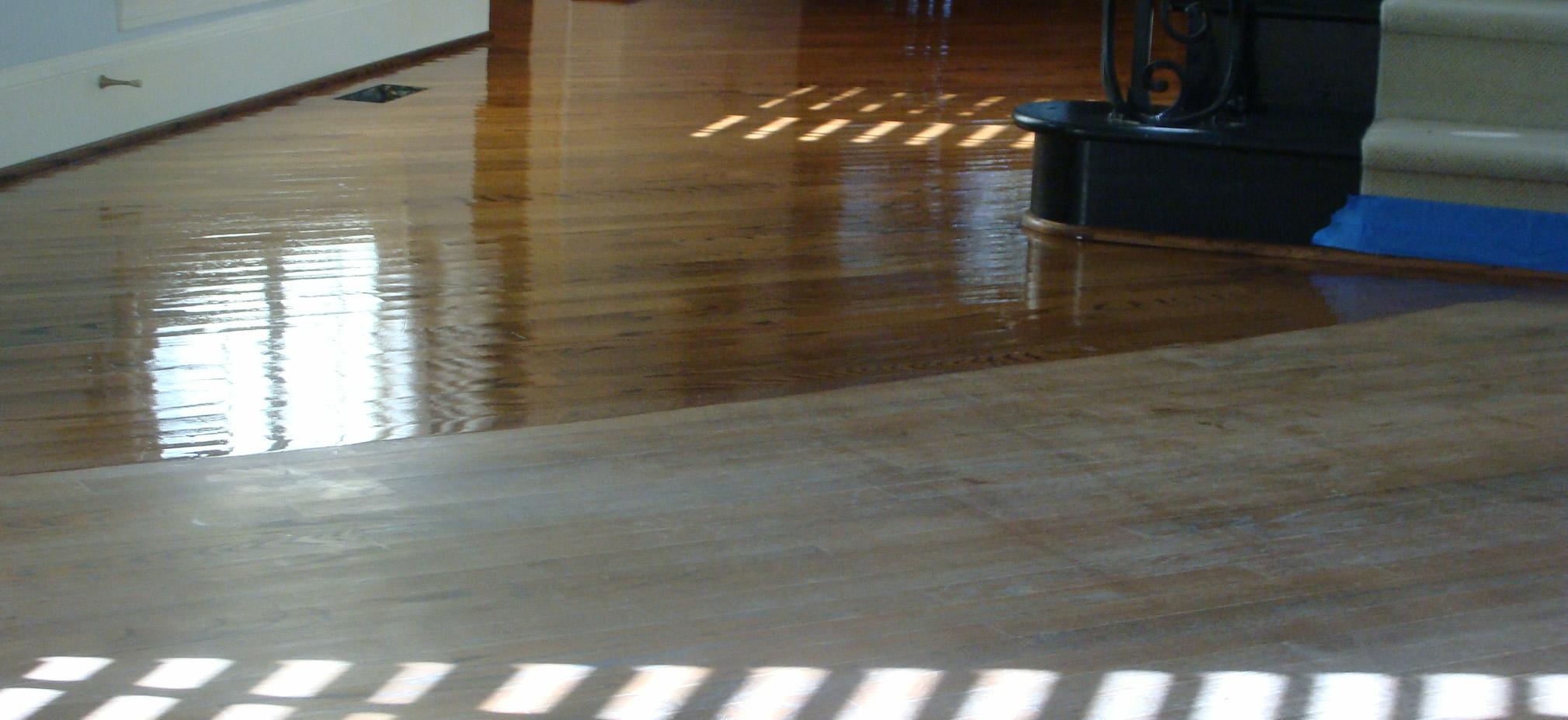 Heritage Plank Floors Install Sand Finish